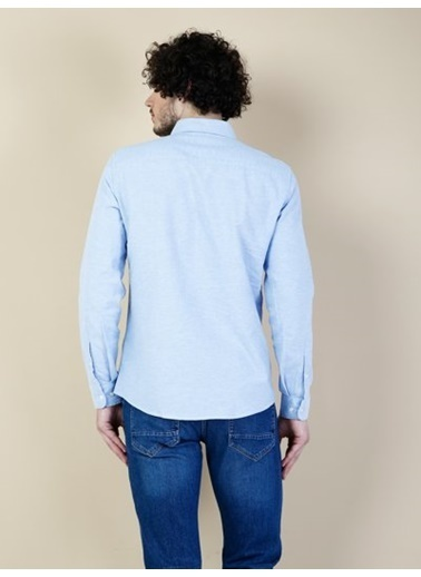 Colin's Uzun Kollu Gömlek Mavi